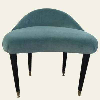2 stools from the fifties by unknown designer for unknown producer