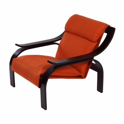 Woodline lounge chair from the sixties by Marco Zanuso for Arflex