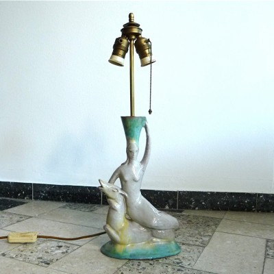 Desk lamp from the twenties by unknown designer for unknown producer