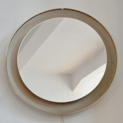 Illuminated Mirror by Mathieu Mategot and Floris H. Fiedeldij for Artimeta