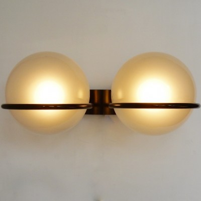 3 327-2 wall lamps from the fifties by Gino Sarfatti for Arteluce