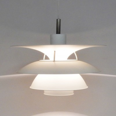 2 PH6-6.5 / Charlottenburg hanging lamps from the seventies by Poul Henningsen & Sophus Frandsen for Louis Poulsen