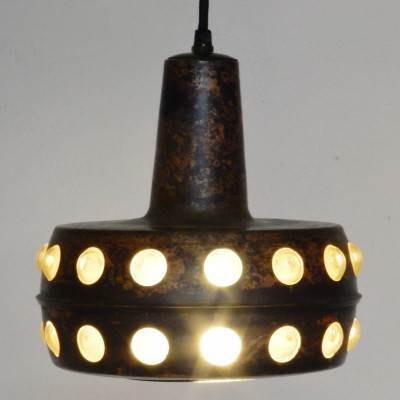 Brutalist hanging lamp by Nanny Still, 1960s