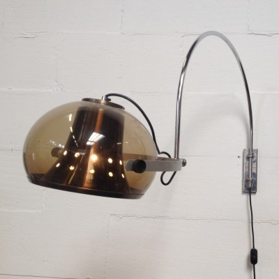 Wall lamp from the seventies by unknown designer for Dijkstra Lampen