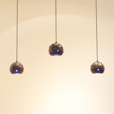 Set of 3 hanging lamps by Nanny Still for Raak Amsterdam, 1950s