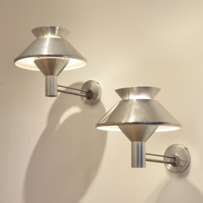 Set of 2 wall lamps from the fifties by unknown designer for Philips