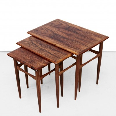 Mimiset nesting table from the fifties by Kai Kristiansen for unknown producer