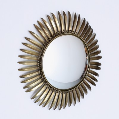 Sunburst Convex mirror by unknown designer for unknown producer