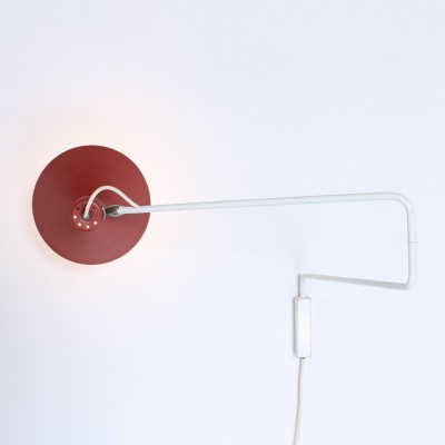 2 Elbow wall lamps from the fifties by J. Hoogervorst for Anvia Almelo