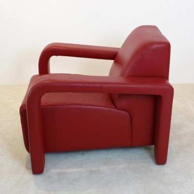 2 lounge chairs from the eighties by unknown designer for Marinelli Italy
