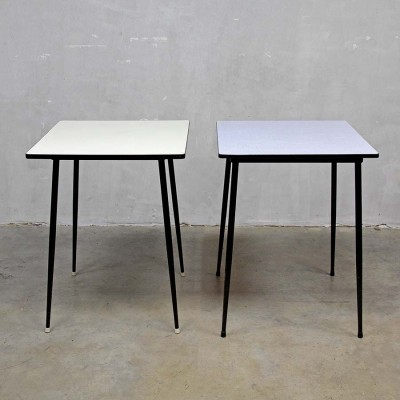 3 x vintage dining table, 1950s