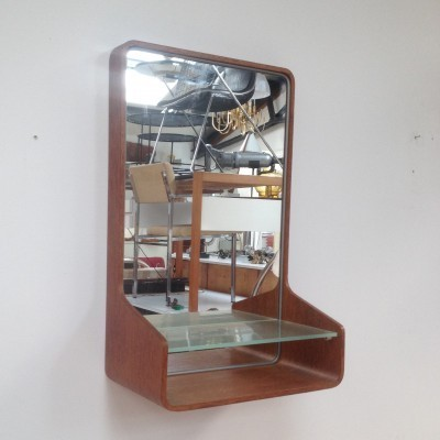 Mirror from the fifties by Friso Kramer for Auping