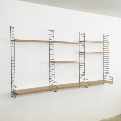 String wall unit from the sixties by Nisse Strinning for String Design AB