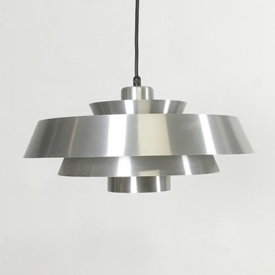Nova Pendel hanging lamp from the sixties by Jo Hammerborg for Fog & Mørup
