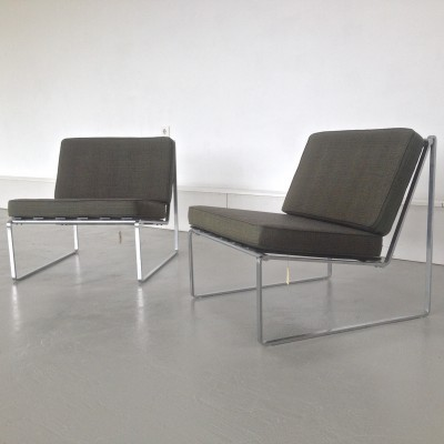 Set of 2 lounge chairs from the sixties by Kho Liang Ie for Artifort