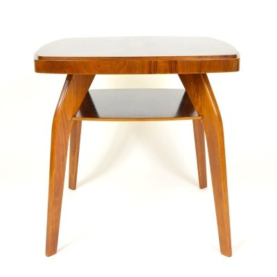 Coffee table from the fifties by Jindřich Halabala for unknown producer