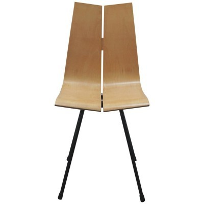 GA dinner chair from the fifties by Hans Bellmann for Horgen Glarus