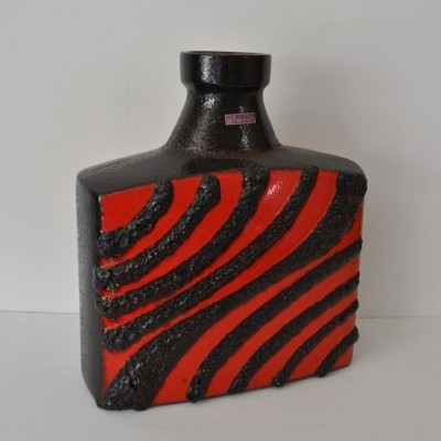 281-39 vase from the sixties by unknown designer for Scheurich Germany