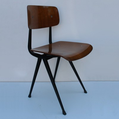 2 Result dinner chairs from the sixties by Friso Kramer for Ahrend de Cirkel