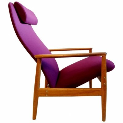 Contour 327 arm chair by Alf Svensson for Bra Bohag Sweden, 1960s