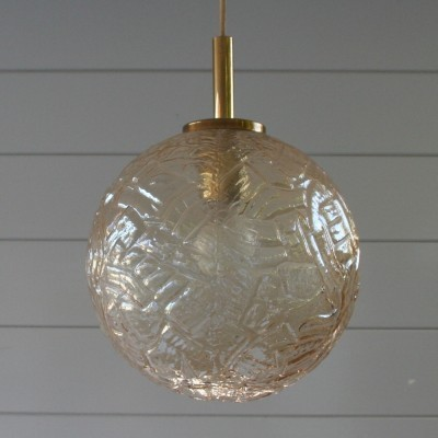 Hanging lamp from the fifties by unknown designer for unknown producer