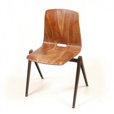 10 Thur Op Seat S22 dinner chairs from the sixties by unknown designer for Galvanitas