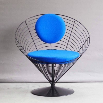 Cone V-Chair 8800 lounge chair from the fifties by Verner Panton for Fritz Hansen
