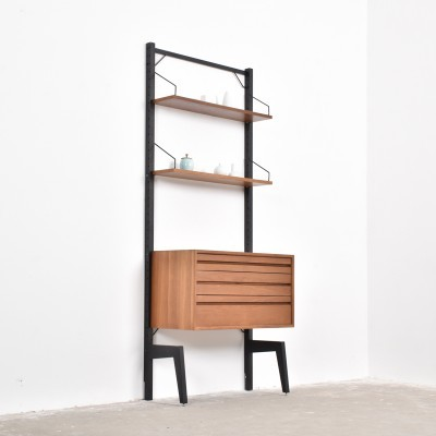 Royal Sytem wall unit from the fifties by Poul Cadovius for Cado