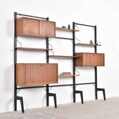 Royal System wall unit by Poul Cadovius for Cado, 1950s