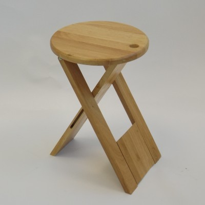 Model TS stool from the seventies by Roger Tallon for Sentou