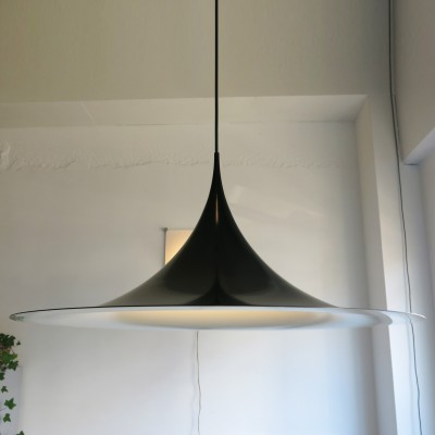 Semi hanging lamp from the seventies by Torsten Thorup & Claus Bonderup for Fog & Mørup