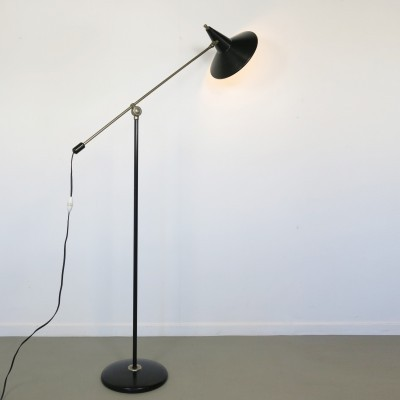 Floor lamp from the sixties by Wim Rietveld for Anvia Almelo