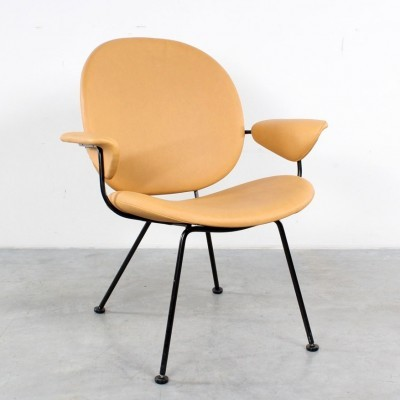 2 x model 302 arm chair by W. Gispen for Kembo, 1980s