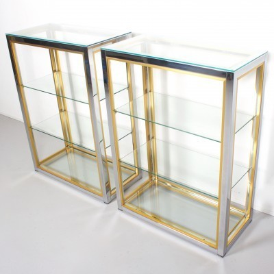 Set of 2 cabinets from the seventies by Renato Zevi for unknown producer