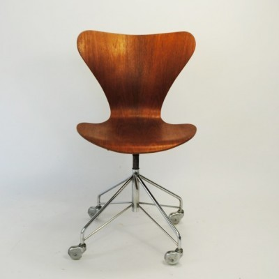 Office chair from the sixties by Arne Jacobsen for Fritz Hansen