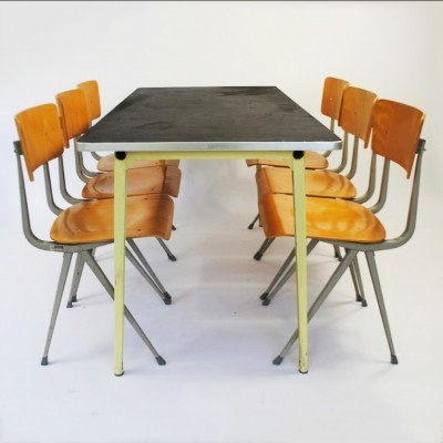 Reform & Result dining set by Friso Kramer for Ahrend de Cirkel, 1960s
