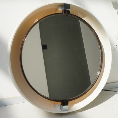 Mirror from the seventies by unknown designer for Allibert