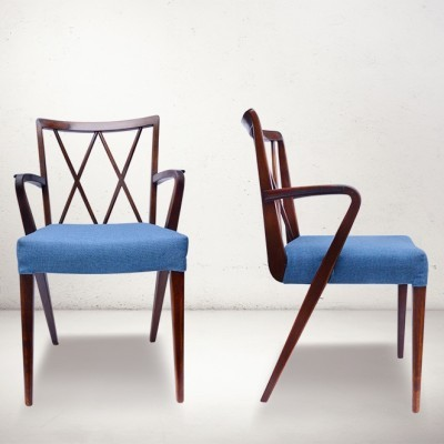 Set of 4 Poly Z dinner chairs from the fifties by A. Patijn for Zijlstra Joure