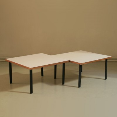 2 side tables from the fifties by Cees Braakman for Pastoe