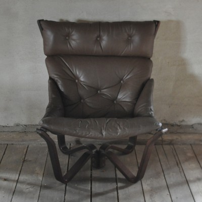 Model Viking lounge chair from the sixties by unknown designer for Brunstad