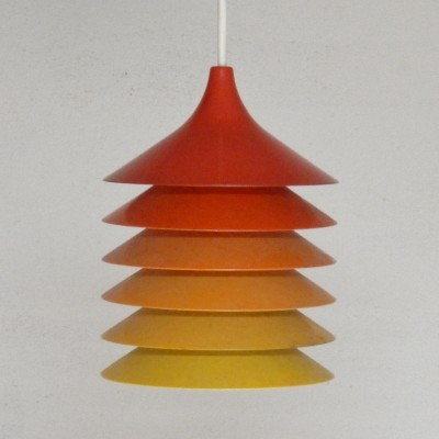 3 Duett hanging lamps from the seventies by Bent Gantzel Boysen for Ikea