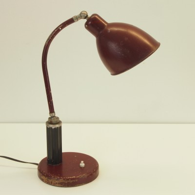 Desk lamp by Christian Dell for Molitor, 1940s