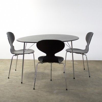 100 Years Centenary Package dining set by Arne Jacobsen for Fritz Hansen & Louis Poulsen, 1990s