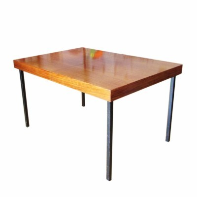 Dining table from the sixties by Dieter Waeckerlin for Idealheim
