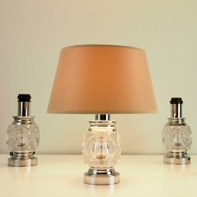 4 desk lamps from the sixties by unknown designer for Peill & Pützler