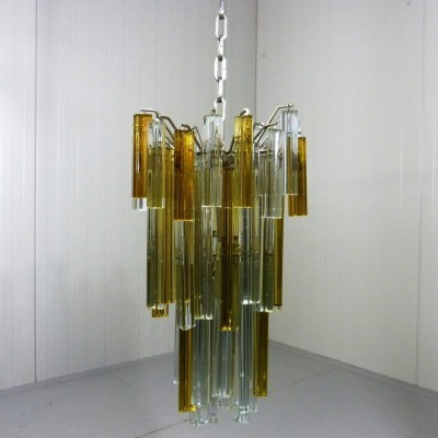 Hanging lamp from the sixties by unknown designer for Venini