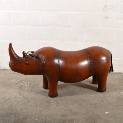 Rhino Footstool stool from the forties by unknown designer for unknown producer