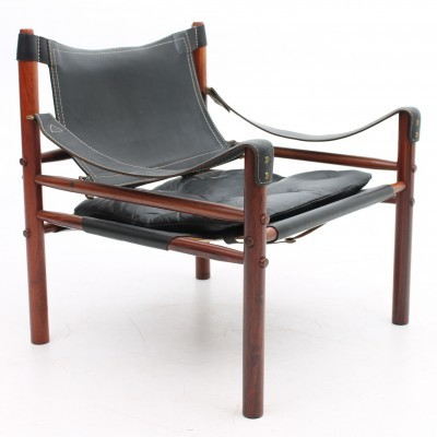 Sirocco lounge chair from the sixties by Arne Norell for Aneby Møbler