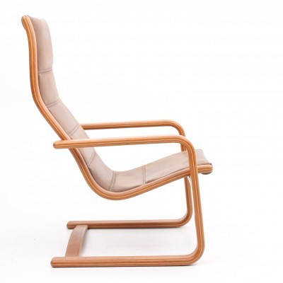 Lamello lounge chair from the seventies by Yngve Ekström for Swedese