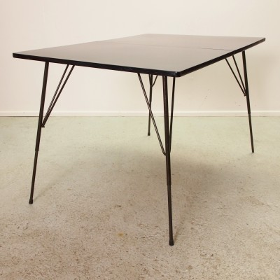 Dining table from the fifties by Rudolf Wolf for Elsrijk
